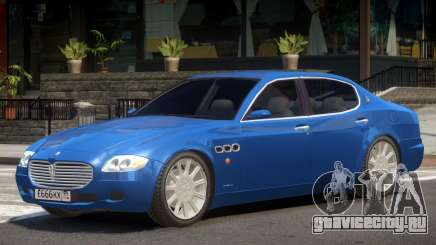 Maserati Quattroporte V1.0 для GTA 4