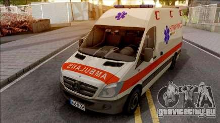 Mercedes-Benz Sprinter Ambulans Hitna Pomoc для GTA San Andreas