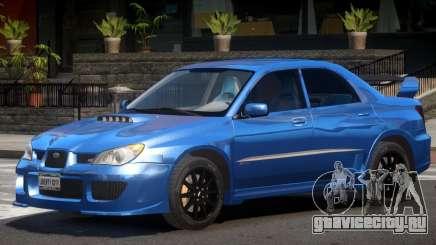 Subaru Impreza STI GT для GTA 4