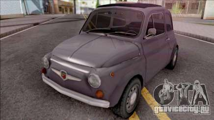 Fiat Abarth 595 SS 1968 Standart Wheels для GTA San Andreas