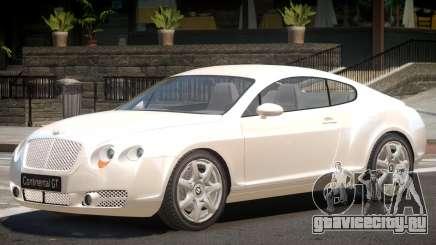 Bentley Continental Tun для GTA 4