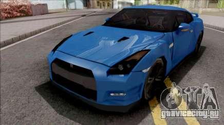 Nissan GT-R R35 2016 45th Anniversary SA Style для GTA San Andreas