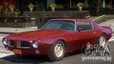1970 Pontiac Firebird V1 для GTA 4