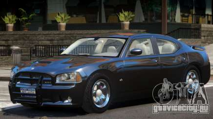 Dodge Charger FBI для GTA 4