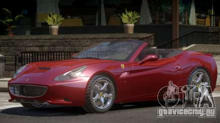 Ferrari California Roadster V1 для GTA 4