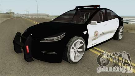 Tesla Model 3 LSPD (Low Poly) 2017 для GTA San Andreas