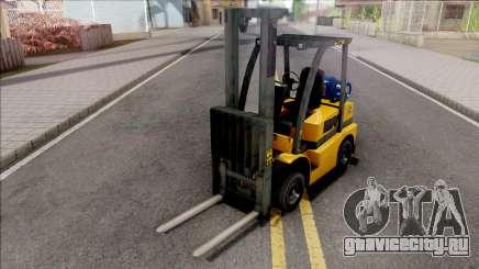GTA V HVY Forklift IVF Style для GTA San Andreas