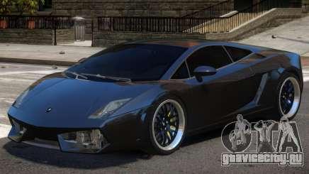 Lambo Gallardo V1.0 для GTA 4