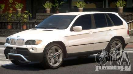 BMW X5 E53 R1 для GTA 4
