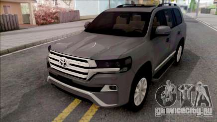 Toyota Land Cruiser GXR 200 2019 для GTA San Andreas