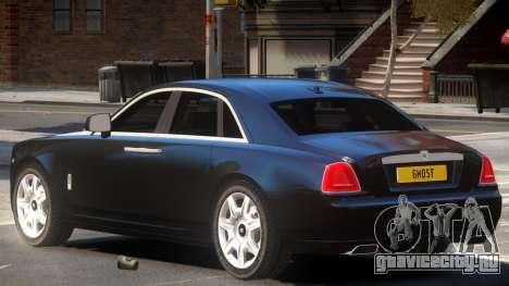 Rolls-Royce Ghost V1.0 для GTA 4