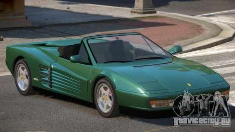 Ferrari Testarossa RS для GTA 4