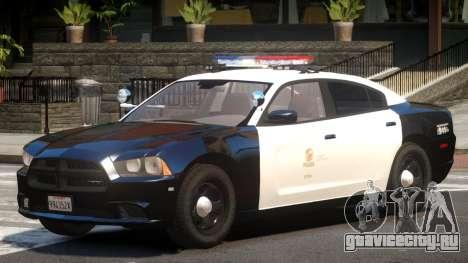 Dodge Charger Patrol V1.0 для GTA 4