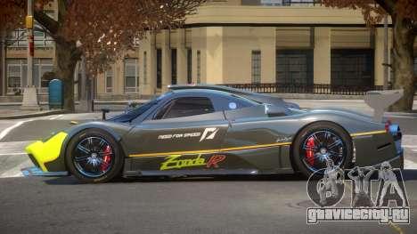 Pagani Zonda RS PJ4 для GTA 4