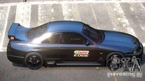 Nissan Skyline R33 Tuning V1.0 PJ2 для GTA 4