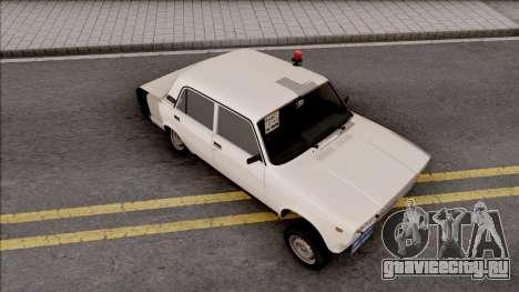 ВАЗ 2107 Bakili 026 Style для GTA San Andreas