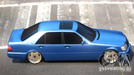 Mercedes Benz S600 V1.1 для GTA 4