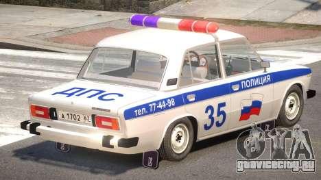 VAZ 2106 Police V1.1 для GTA 4