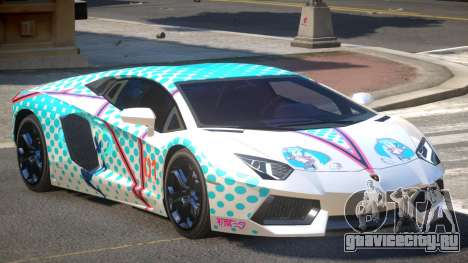 Lamborghini Aventador RS PJ2 для GTA 4