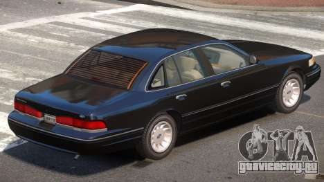 Ford Crown Victoria ST для GTA 4