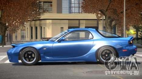 Mazda RX7 GTS для GTA 4
