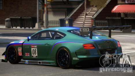 Bentley Continental GTS PJ2 для GTA 4