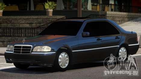 Mercedes C180 V1.0 для GTA 4