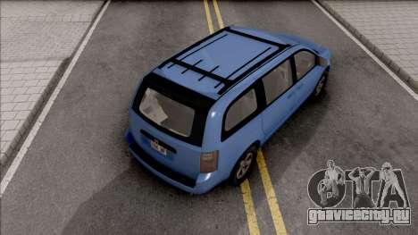 Dodge Grand Caravan 2009 для GTA San Andreas
