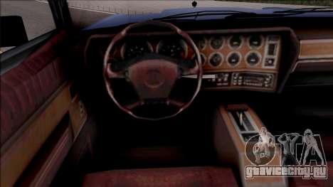 Chrysler New Yorker 1982 v2 для GTA San Andreas