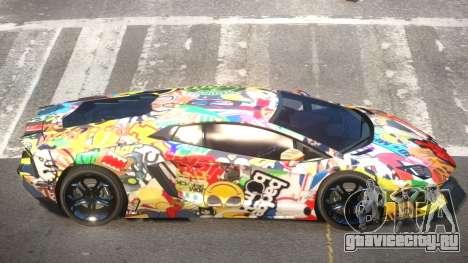 Lamborghini Aventador RS PJ4 для GTA 4