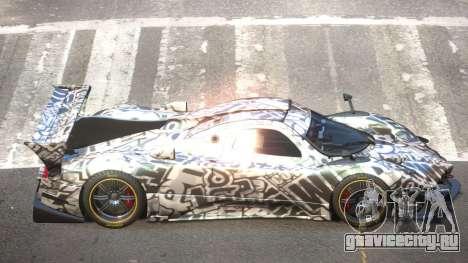 Pagani Zonda GT-R PJ1 для GTA 4