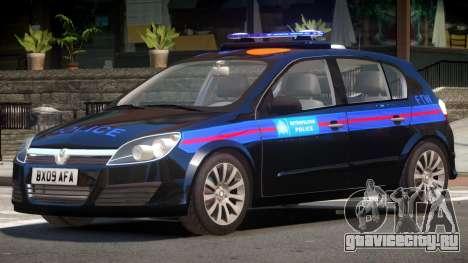 Vauxhall Astra Police V1.0 для GTA 4