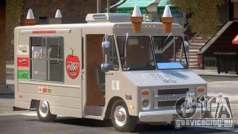 1985 Chevrolet Step Van Ice Cream для GTA 4