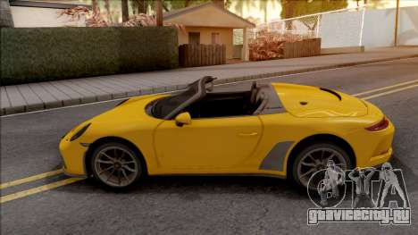 Porsche 911 Speedster 2020 для GTA San Andreas