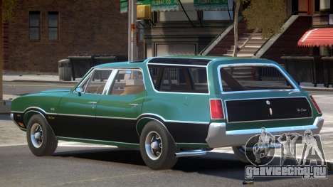 Oldsmobile Vista Cruiser V1.0 для GTA 4