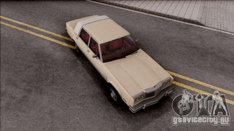 Chrysler New Yorker 1982 для GTA San Andreas