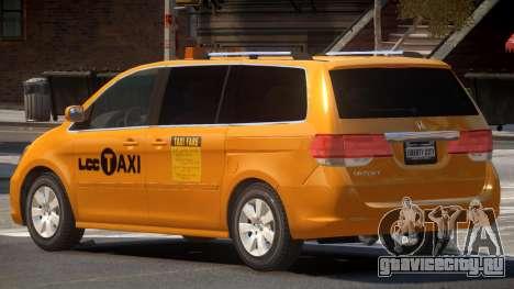 Honda Odyssey Taxi для GTA 4