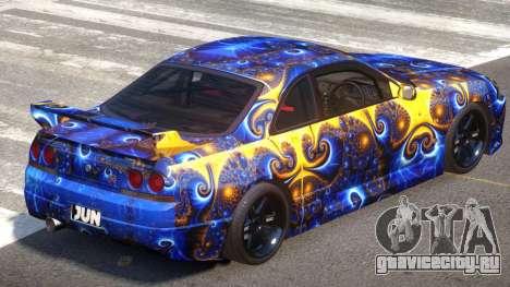 Nissan Skyline R33 Tuning V1.0 PJ3 для GTA 4