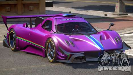 Pagani Zonda GT-R PJ6 для GTA 4