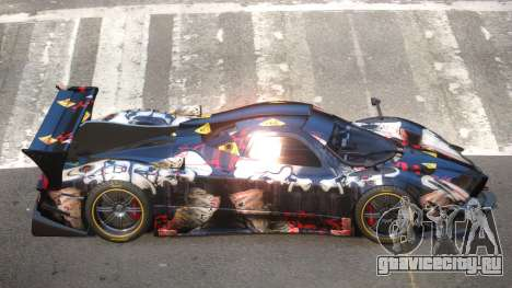 Pagani Zonda GT-R PJ3 для GTA 4