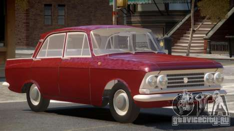 Moscvich 408 V1.0 для GTA 4