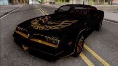 Pontiac Firebird Trans am 77 BlackOne для GTA San Andreas
