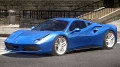 Ferrari 488 GTS V1.0 для GTA 4