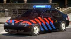 Volkswagen Bora Police V1.0 для GTA 4
