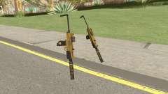 Micro SMG (Luxury Finish) GTA V Two Upgrades V7 для GTA San Andreas