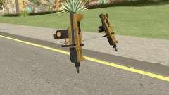 Micro SMG (Luxury Finish) GTA V Base V1 для GTA San Andreas