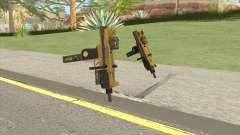 Micro SMG (Luxury Finish) GTA V Two Upgrades V2 для GTA San Andreas
