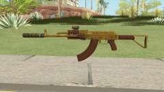 Assault Rifle GTA V (Two Attachments V12) для GTA San Andreas