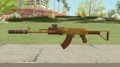 Assault Rifle GTA V (Two Attachments V11) для GTA San Andreas