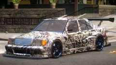 Mercedes 190E Sport PJ1 для GTA 4